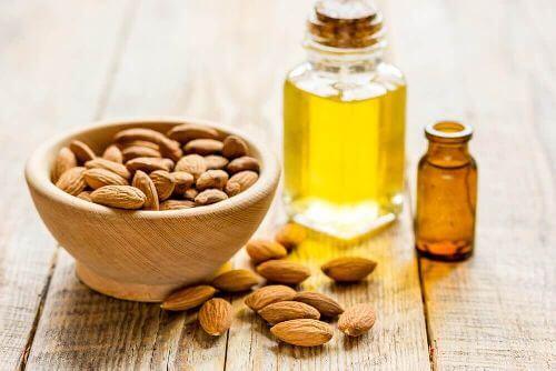 Olej migdałowy i witamina E