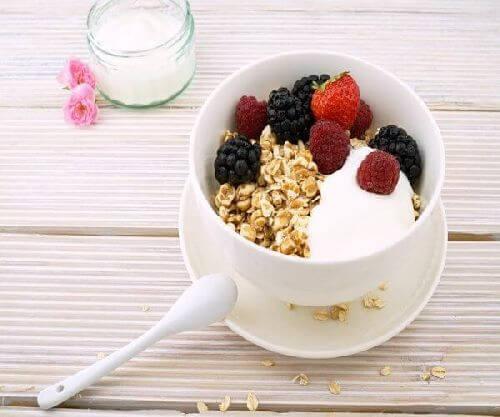 Jogurt i inne probiotyki