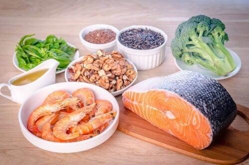 Jedz jak najwięcej produktów bogatych w kwasy omega 3.