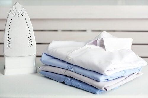 składanie koszul