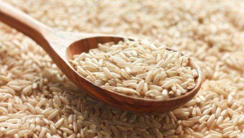 Surowy ryż