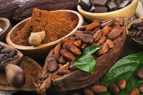 Kakao ma silne właściwości przeciwutleniające.