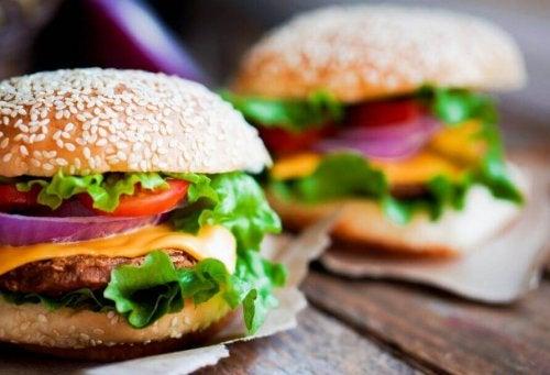 burger z kurczaka