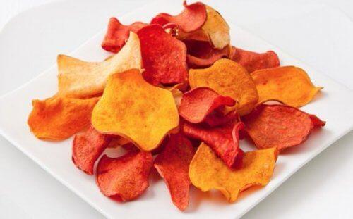 Chipsy z bakłażana i inne chipsy warzywne – przepisy