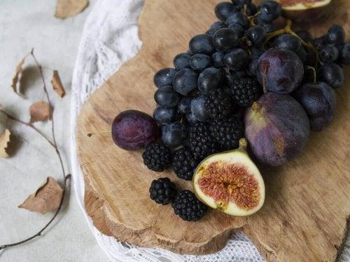 trufle z owocami