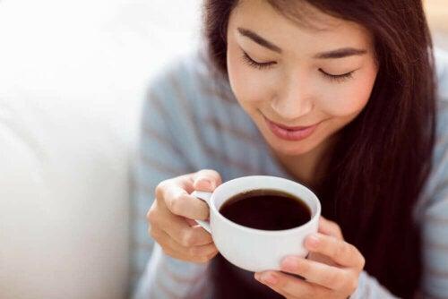 Picie kawy