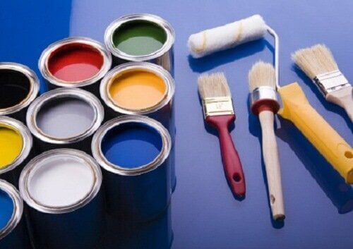 Kolorowe farby