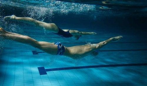Korzyści z pływania