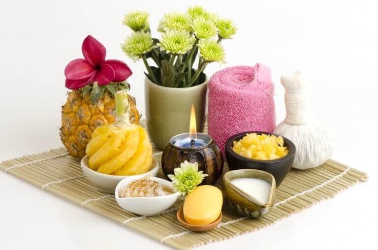 Ananas w kosmetyce
