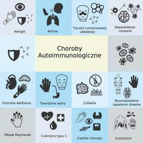 Najczęstsze choroby autoimmunizacyjne