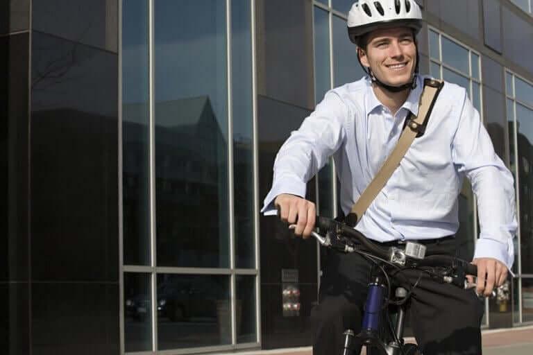 Jazda na rowerze do pracy