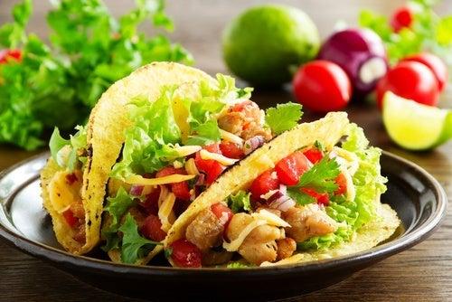 Pyszne wegańskie tacos
