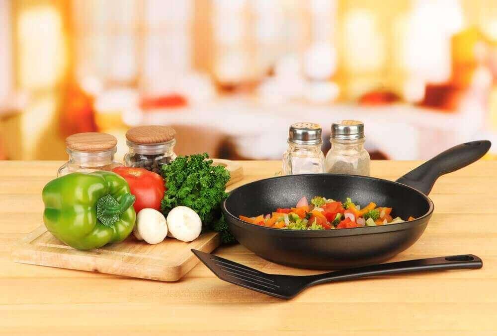 Warzywa na patelni