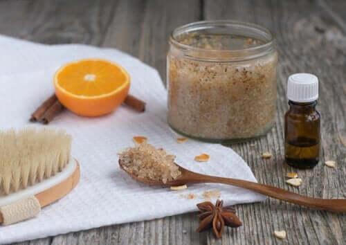 Cytryna i cukier - eliminacja zaskórników