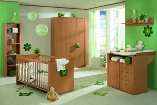 pokój dziecięcy - najlepsze kolory zielony