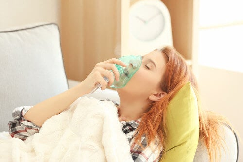 Ciężka postać astmy - atak