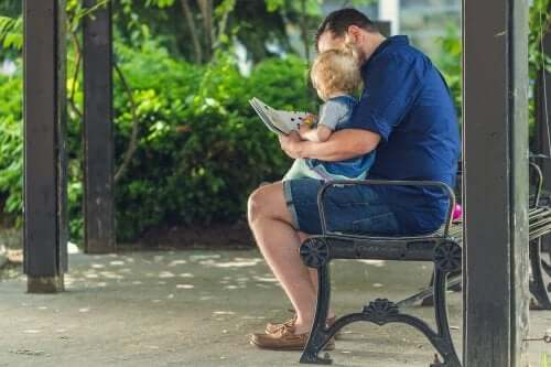 tata uczy czytania - metoda Domana