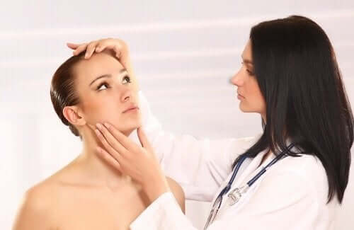 Kandydoza skórna u pacjentki