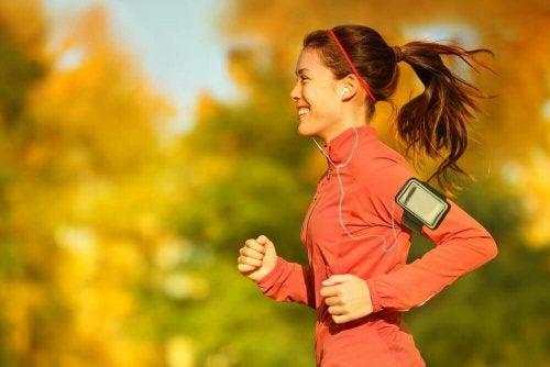 przeziębienie zimą aktywność bieganie