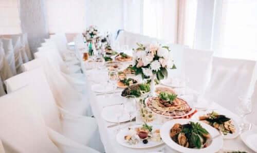 Białe wesele, a menu weselne