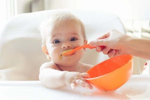 Jedzące niemowlę - zdrowe posiłki dla dziecka