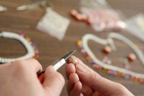Koraliki na domowej roboty breloczki na klucze