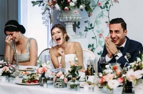Menu weselne - goście i stół