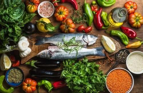 Produkty na dietę śródziemnomorską