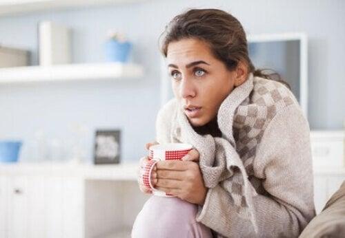 Hipotermia u młodej kobiety