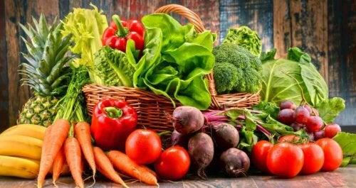 Owoce i warzywa - big mac