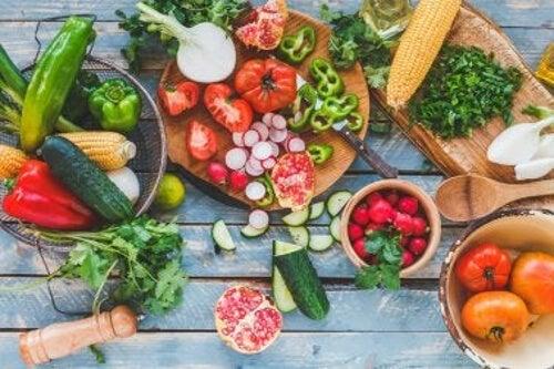 Warzywa zielone