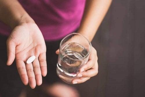 Zażywanie tabletek
