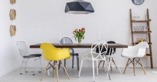 Krzesła z recyklingu