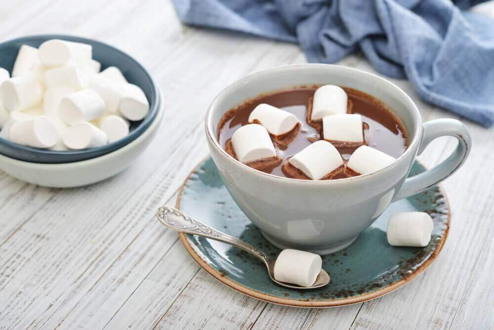 Gorąca czekolada z piankami