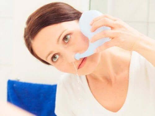 Udrożnienie nosa