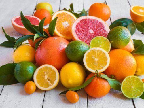 Owoce zawierają pektynę