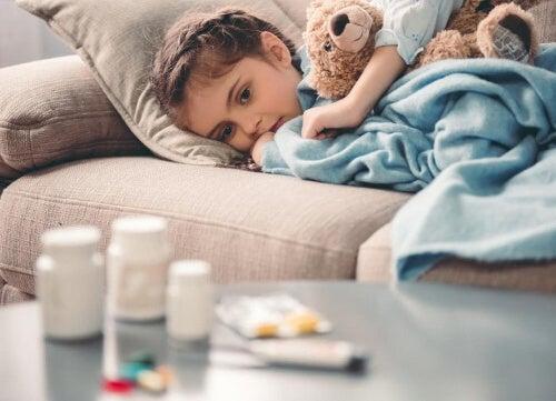 Dziecko leczone na ADHD