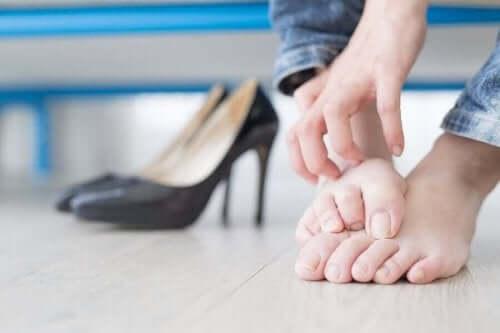Stopy - paznokieć wrastający