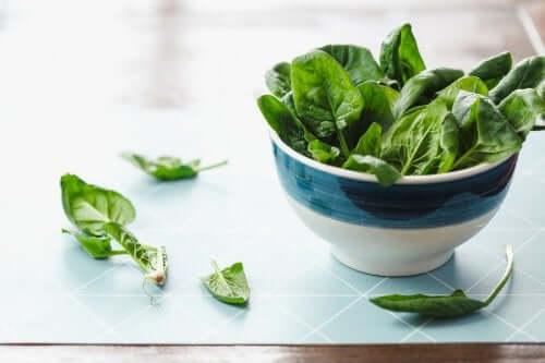 Szpinak surowy - 5 korzyści dla zdrowia