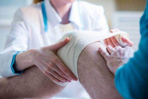 Opatrywanie kolana