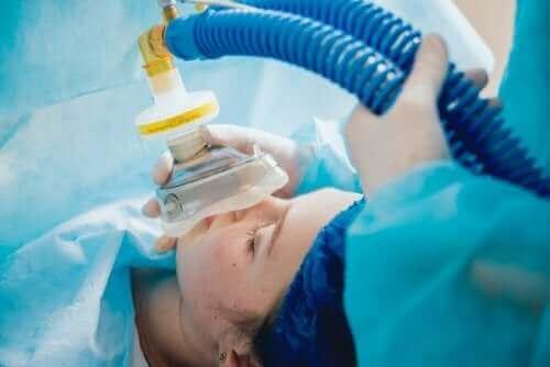 Pacjent pod znieczuleniem ogólnym