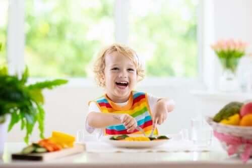 Zdrowa żywność dla dzieci – dieta od 1 do 3 roku życia