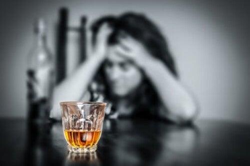 Pijana kobieta