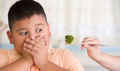 Dziecko nie chce brokuła