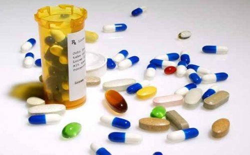 Fiolka z lekarstwami