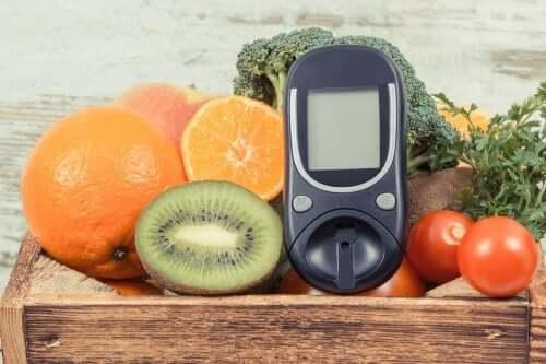 Glukoza w owocach
