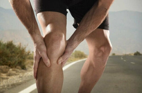 Skurcze nóg u biegacza