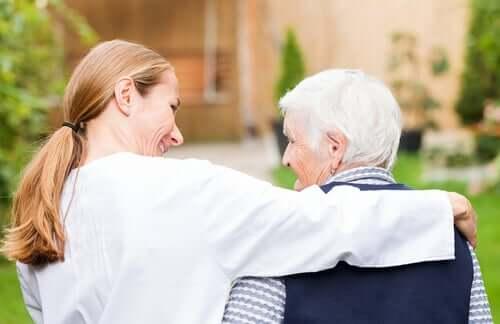 Demencja starcza - dwie osoby