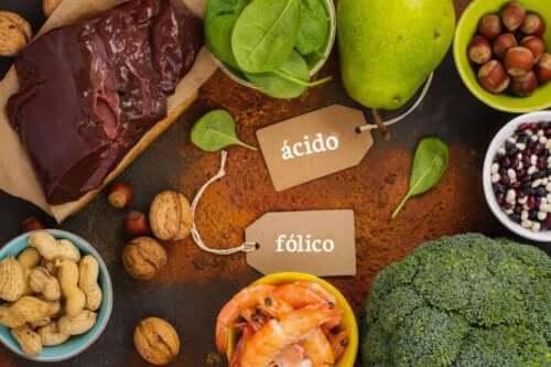 Jedzenie a kwas foliowy a foliany