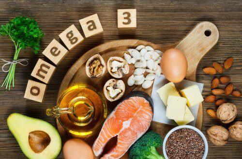 Jedzenie z omega-3